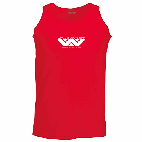 Brand88 - The Company, Unisex Athletic Weste Rot