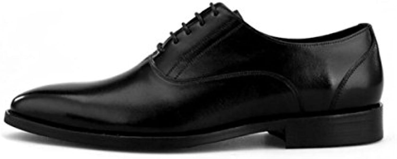 NBWE Herren Business Leder Schuhe Casual Britischen Kleid Schuhe