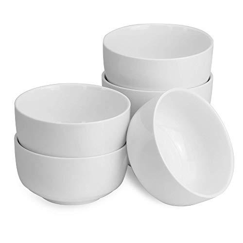 Juego De 6 Cuencos De Porcelana De 150ml | Tamaño