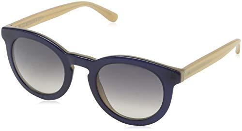 BOSS Hugo Damen 0742/S 9C KIQ Sonnenbrille, Blau (Bluette Nude/Dark Grey Sf), 48