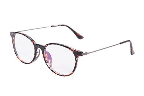 SHINU Platz Leichte TR Brillen Frauen Männer Geschäfts-Art Rezept optische Rahmen SH015 (demi) (Brille Männer Rezept)