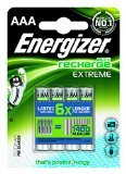 Energizer ACCU Extreme AAA MN2400 HR03 NiMH Rechargeable Batteries 800mAh - 8 Pack Aaa 8 Energizer