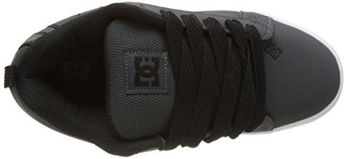 DC Shoes Court Graffik S, Baskets Basses Homme Gris (Grey/White)