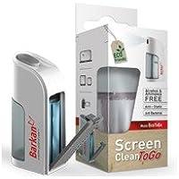 Barkan BAR-EcoToGo - Detergente liquido ecologico per la pulizia dello schermo, con panno in microfibra, 50 ml - Trova i prezzi più bassi su tvhomecinemaprezzi.eu