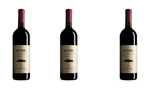 3 bottiglie di Rocca Rubia - Carignano del Sulcis DOC riserva rosso