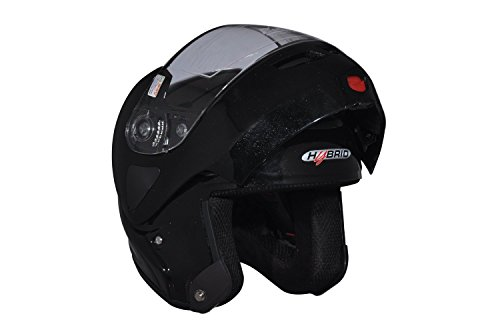 Aaron Hybrid Flip-Up Helmet (Black,L)