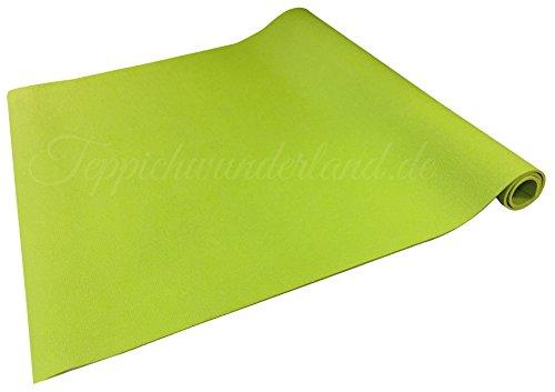 Teppichwunderland Anti-Rutsch Krabbelmatte Baby Schadstofffrei Oeko-Tex Matten, Größe 180 x 180 cm Grün