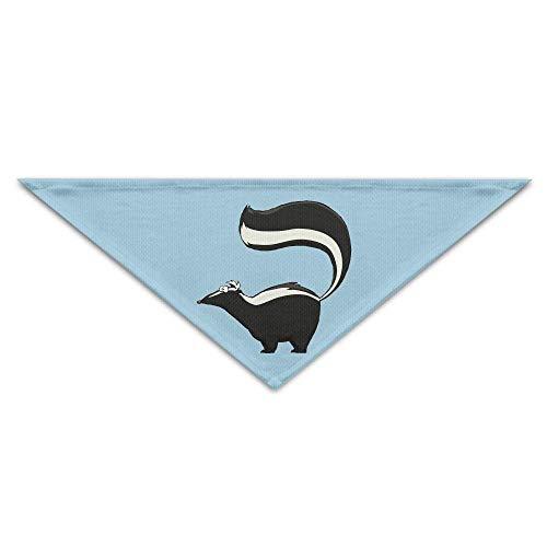 Rghkjlp Skunk Pet Scarf Dog Bandana Pet Collars Triangle Neckerchief Puppy Bibs ()
