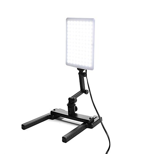 Ruili 96 Led Studio-Licht Video Lampe + Verstellbare Arm & Haltewinkel-Stand Kit für Digitalkameras