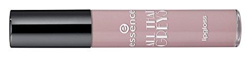 Essence all that greys Brillant à lèvres, non collant, de couleur 02 That's what Rose would do, 6 ml, 0.20 fl.oz