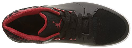 Nike Jordan 1 Flight 3 Low, Scarpe sportive, Uomo Black/Gym Red-White