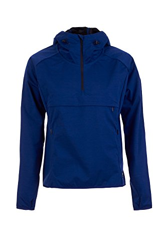 super.natural Damen W Comfort Anorak Funktionsjacke, Indigo, 38/40