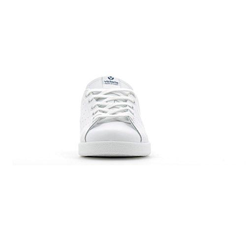 Victoria Deportivo Piel, Sneaker Unisexe - Marine Adulte