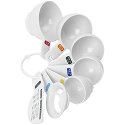 Dexam Dots - Tazas medidoras (con separador de huevo y nivelador)