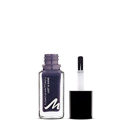 Manhattan Last & Shine Nagellack, Nr.940, A Purple Spell, lila, 1er Pack (1 x 10 ml)