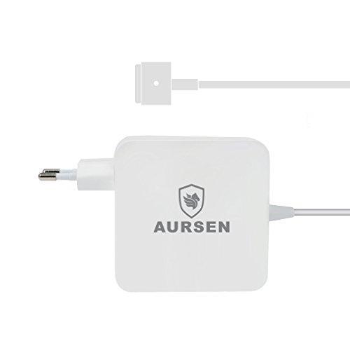 Aursen 60W MagSafe 2 Power Adapter Netzteil für Apple MacBook Pro mit MagSafe2-Netzteile in T-Form Kompatibel mit Modell A1435/A1465/A1502/MD212/MD213/MD662 (Power Adapter Macbook)
