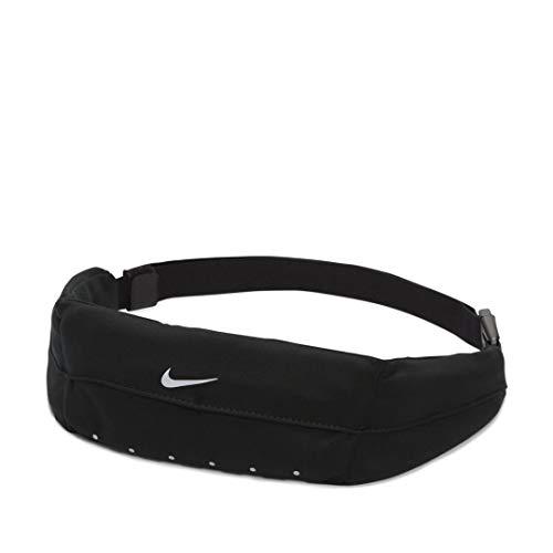 Nike unisex - adulto expandable waistpack marsupio nero taglia unica