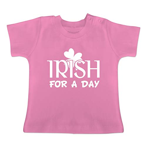 Kostüm Gebot Zehn - Anlässe Baby - Irish for A Day St Patricks Day - 18-24 Monate - Pink - BZ02 - Baby T-Shirt Kurzarm