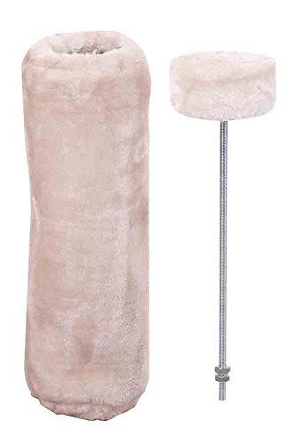 "Nobby STARSYSTEM Deckenspanner + Cover \""DE LUXE\"" beige ø12 x 40 cm"