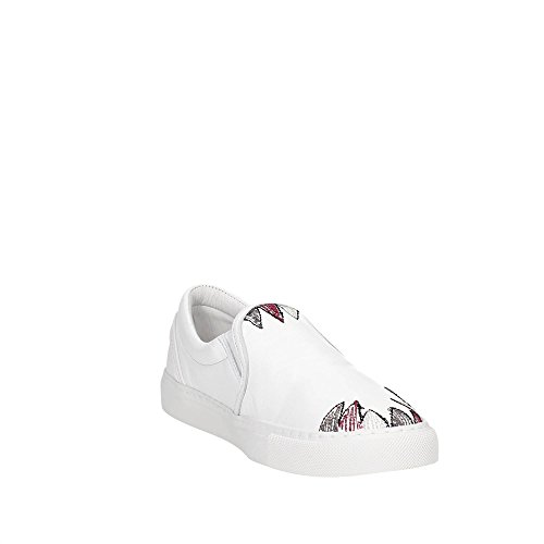 D.A.T.E. Slip ON-15I Slip-On Donna Bianco