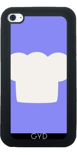 SilikonHülle für Ipod Touch 4 - Küchenchef by ilovecotton (Küchenchef Uniform)