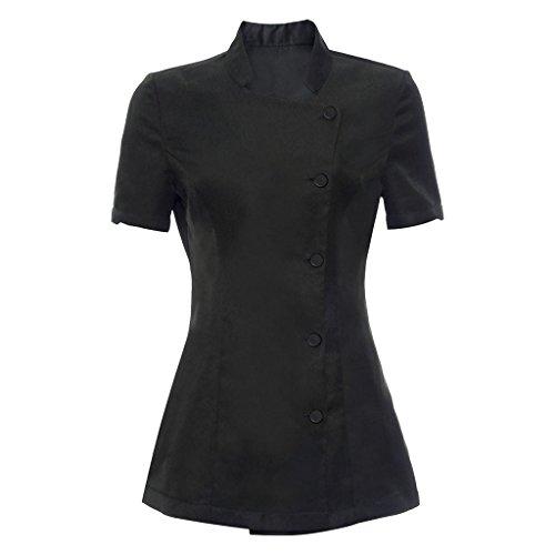 Camicetta a tunica - salute e bellezza - abiti da lavoro- donna - nero, s