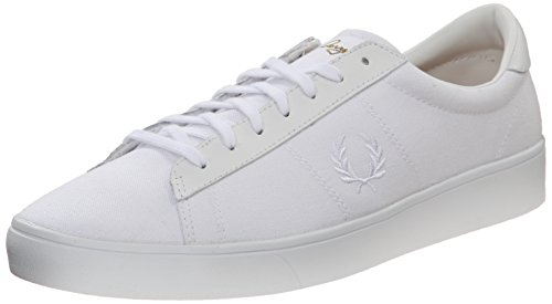 Fred Perry Spencer Canvas Leather White Weiß