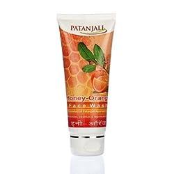 Patanajli Orange Honey Face Wash, 60g (Pack of 3)