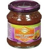 Pataks Sweet Mango Chutney 12 Oz by Online Indian Grocery [Foods]