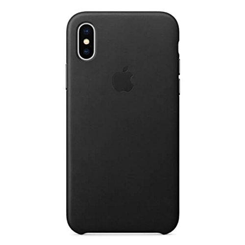 Apple MQTD2ZM/A Leather Case (for iPhone X) - Black