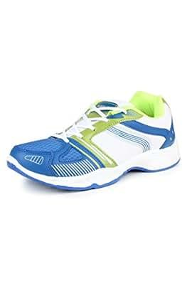 Columbus Men Blue Green Sports Shoes (6 UK)