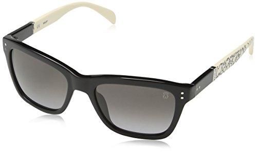 Tous STO835 530700, Gafas de Sol para Mujer, Shiny Black, 53