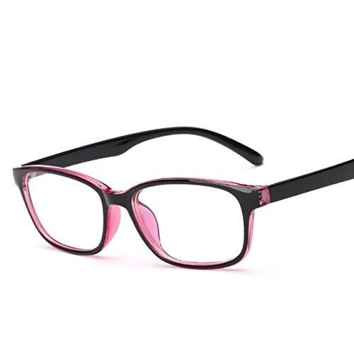 Nerd Von Verschiedene Arten Kostüm - LUHOU Anti-Strahlungs-GläserZur Linderung Ermüdung Gläser Anti-strahlung Gläser Anti-blu-ray Computer Spiel Flachlichtbrille Männer Frauen Brilleantiuv rot