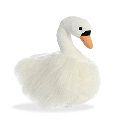 "AURORA 12"" LUXE BOUTIQUE SWAN PLUSH SUPER SOFT TOY BRAND NEW GIFT"