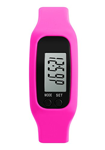 juvenil bobby rose reloj inteligente de la muchacha rosada reloj digital  llevado la moda multifunción deportivo 50a44108404d