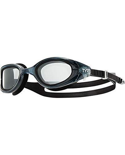 TYR Unisex Special Ops 3.0 Übergangs-Brille, High Definition, photochrome Gläser, klar/Schwarz, Einheitsgröße - Special Ops