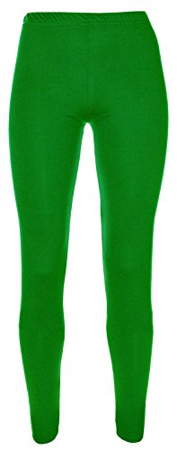 Girls Kids Leggings Plain Full Length Dance Stretch Child Teens 2 3 4 5 6 7 8 9 10 11 12 13 Years