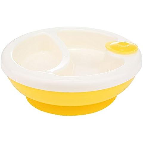 niceEshop (TM) per bambini con ventose isolamento in plastica cucchiaio ciotola set Super Food PILA per Storage