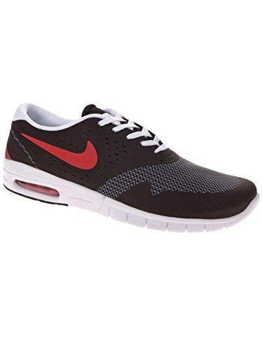 Nike Herren Eric Koston 2 Max Skaterschuhe, Rot, Talla black/university red/cool