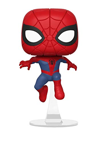 Funko - Pop.Color Marvel Animated Color Spider-Man (Bobblehead),, 34755