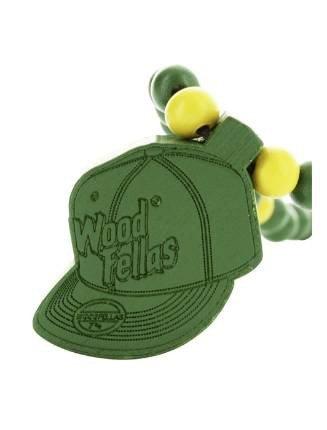 Wood Fellas Herren Accessoires / Kette Cap grün Einheitsgröße