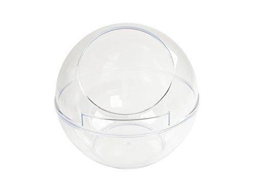 Kunststofftechnik Vlotho - Displaykugel/Warenspender/Verkaufsschütte zum präsentieren von Produkten, Ø 200 mm, transparent