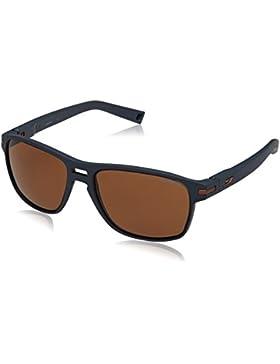 Julbo Bergen Gafas de Sol polarizadas Hombre, Hombre, Color Bleu Foncé P082 Mat, Tamaño Talla única