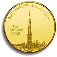 DMCC Vision of Dubai - Burj Khalifa 1oz gold coin