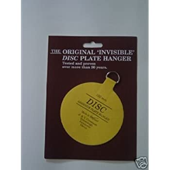 Pack of 5 Self Adhesive Plate Hanger 100mm Size / Stick On Plate ...