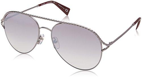 Marc Jacobs Damen MARC 168/S IC GHP 58 Sonnenbrille, Ruthenium/Grey Ms Slv,