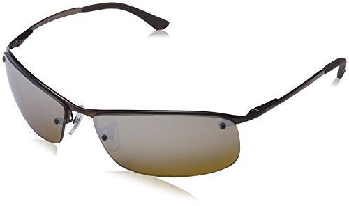 Ray-Ban Sonnenbrille Metallic RB 3183, 014/84  braun