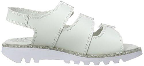 Kickers Kick Trisandal Hr Af, Sandales Femme Blanc (White)