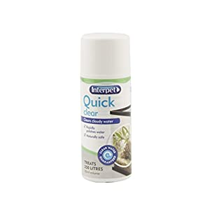 Interpet Quick Clear Aquarium Treatment, 50 ml
