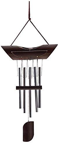 AUBRY GASPARD Carillon en Bambou et métal 50 cm